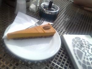 Green Refectory Cafe brunswick cake