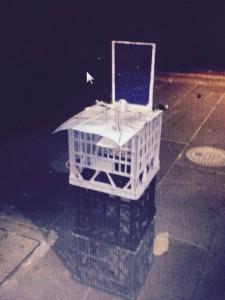 Infoguy melbourne homeless nightrider desk