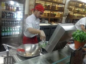 Vapiano italian melbourne CBD teppinyaki style restaurant