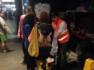 infoguy melbourne helping infromation tourist customer service homeless