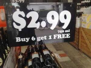 pop up wine shop very cheap wine deals