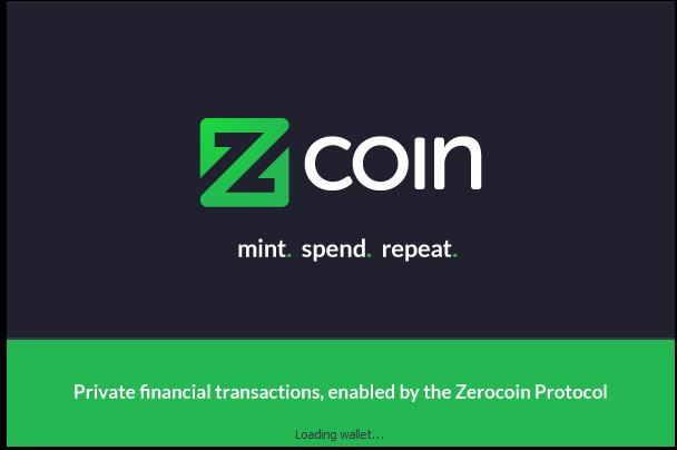 Znode_zcoin_QT_wallet_sync_blockchain_imported_wallet_loading