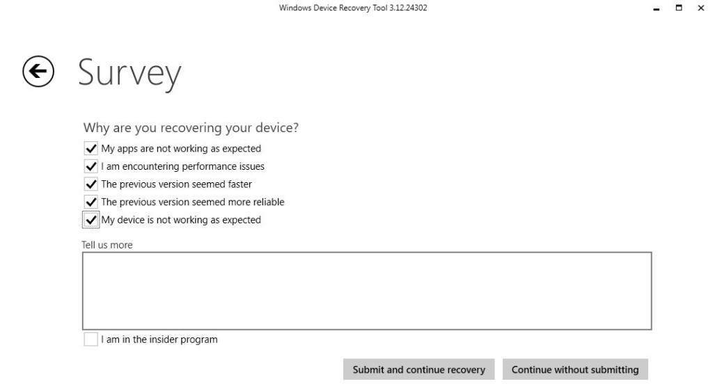 windows_recovery_tool_nokia_lumia_survey_screen